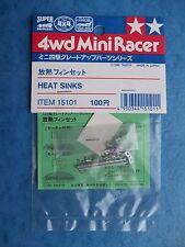 TAMIYA 15101 VERY RARE HEAT SINKS 4WD MINI RACER SLOT PART NIP