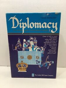 Diplomacy, Avalon Hill Board Game, New