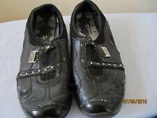 Bebe Sports shoes UK 6  EU 39 Black slip on leather patent Worn