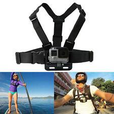 GoPro HD Hero 1 2 3 3+ 4 Macchina Fotografica Cinturino Regolabile Elastico Sul Petto Imbracatura Mount