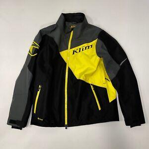 KLIM Powerxross Snowmobile Jacket - Men's Large - Klim Yellow