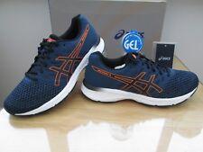 ASICS GEL-EXALT 4 MENS  BLUE BLACK COURSE RUNNING TRAINERS SIZE UK 9 EURO 44