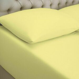 100% COMBED COTTON JERSEY WARM FITTED SHEET BED COVER SINGLE SMALL DOUBLE KING