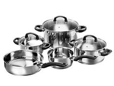 Karcher 125457 Mia cookware set, incl. glass lids, suitable for induction hobs,