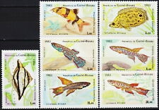 Guinea-Bissau Local Fish 1983 MNH-6,50 Euro