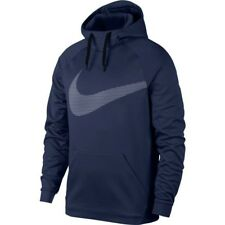 Nike therma dri-fit pullover training hoodie binary blue  (L) (905653 429)