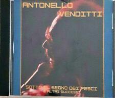 ANTONELLO VENDITTI SOTTO IL SEGNO DEI PESCI CD SEALED SIGILLATO