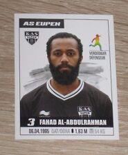 "Image Sticker #86 PANINI ""Fahad AL-ABDULRAHMAN"" (Eupen) Jupiler Pro League 2017"
