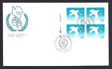 Canada FDC # 1110   UN INTERNATIONAL YEAR OF PEACE  1986 ULpb  New & Unaddressed