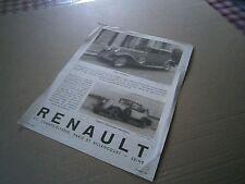 Catalogue pub auto prospectus catalogue Renault Nervastella et Reinastella