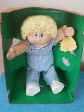 1983 Cabbage Patch Kids Doll Lisabeth Madelaine Adoption Papers New In Box