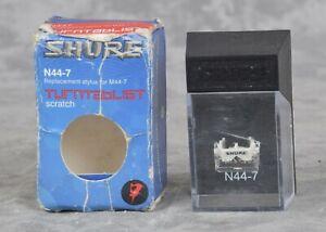 Shure N44-7 Turntablist DJ Turntable Scratch Cartridge Stylist w/ Needle for M44