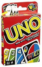 Mattel UNO Card Game With Wild Cards Version Family Great Fun UK SELLER