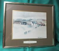 "Print ""The White Farm"" by Hugh Brandon-Cox, signed by the artist"