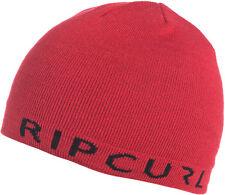 Rip Curl Revo Icon Beanie in Pompeian Red