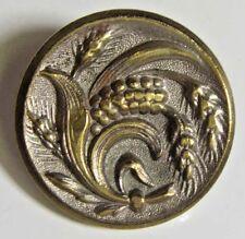 antique rare brevete sgdg metal floral button pairs France Europe 45559