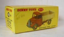 Repro Box Dinky Nr.410 Bedford End Tipper