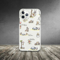 Winnie The Pooh Disney Pattern Case For iPhone SE XR 11 Pro Xs Max X 8 7 6 6s