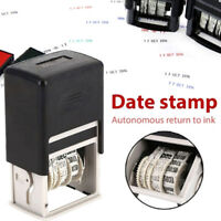 4Mm date stamp roller date stamp with ink english  diy date seal JCAUB Gy
