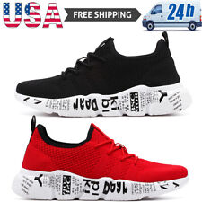 Men's Casual Breathable Running Shoes Athletic Jogging Sneakers Tennis Sports