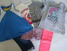 Girls Size 10-12 Spring/Summer Clothing Lot of 6 Mix & Match Outfit Lot