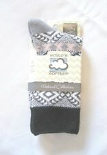World's Softest Socks - Weekend Collection - Harvest Moon - Crew Length - NEW