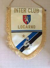 GAGLIARDETTO CALCIO INTER F.C. INTERNAZIONALE CLUB ULTRAS ULTRA' LOCARNO 1964