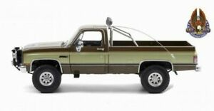 Voiture GMC Chevrolet PickUp K-2500 L'Homme Qui Tombe à Pic K2500 Stuntman 1/18