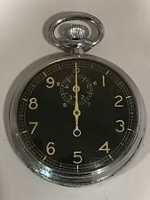 World War 2 Era Waltham Type A-8 Military Stop Watch .Bomb Timer !!WORKS GREAT!!
