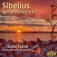 Sibelius: Symphonies Nos. 4 & 7 [New CD]