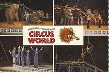 Circus World Ringling Bros Barnum & Bailey Multiview 1979 Vintage Postcard D24