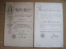 """Regio ferroviaria certificati, documenti con atto notarile """"per Aquila rossa"""" Orden"""
