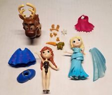 Disney Frozen 3pcs Toy Figures with clothes and accessories