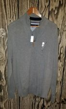 Tommy Hilfiger Men's Quarter-Zip Sweater NWT Size xl MSRP $79 SW1643