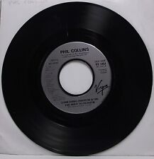 """PHIL COLLINS Something Happened On The Way To Heaven 7"""" Single 45rpm Vinyl VG"""