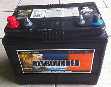 MRV50 Allrounder 80AH,12V, 650CCA DEEP CYCLE/STARTING BATTERY