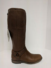 FRYE Phillip Harness Tall Fashion Boots, Cognac Vintage Leather, Womens 7 M