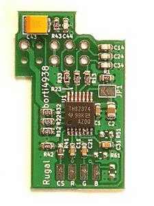 Nintendo 64 N64 Basic THS7374 RGB Amp Mod Board