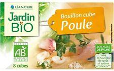Jardin Bio - Bouillon Cube Poule Sans Huile De Palme 80G - Lot De 4
