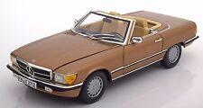 NOREV 1986 Mercedes Benz  300SL Gold Metallic LE of 1000pcs 1:18 183514*New!