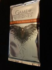 2015 Rittenhouse Game of Thrones Season 4 Trading Card Pack from Sealed Box!