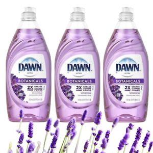 DAWN ULTRA BOTANICALS LAVENDER 19.4 OZ DISH SOAP (Lot of 3)