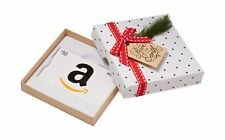 Amazon.com Gift Card in a Holiday Sprig Box (Classic White Card Design... NO TAX