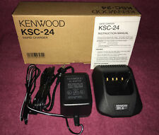 KENWOOD KSC-24 RAPID CHARGER FOR TK280 TK380 TK480, ETC.