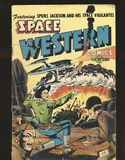 Space Western # 42 - Atom Bomb explosion cover G/VG Cond.