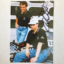 Heinz-Harald Frentzen - Formel 1 - original Autogramm  - Größe 17 x 12 cm