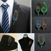 Men Brooch Lapel Badge Suit Pin Chest Metal Collar Pin Handmade Accessories Gift