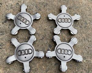 AUDI Q5 - A3 - Wheel Centre Caps x 4 #8R0601165 Plastic Silver