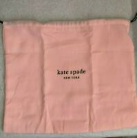 "NEW Kate Spade  Dust Bag  about 13.5"" x 11.5"" PINK"
