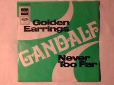 """GANDALF Golden earrings 7"""" GERMANY RARISSIMO VERY RARE!!!"""